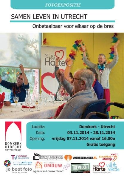 Flyer-2014-Foto expo Samen leven in Utrecht